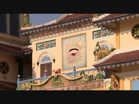 all seing eye(mata satu) diluar temple